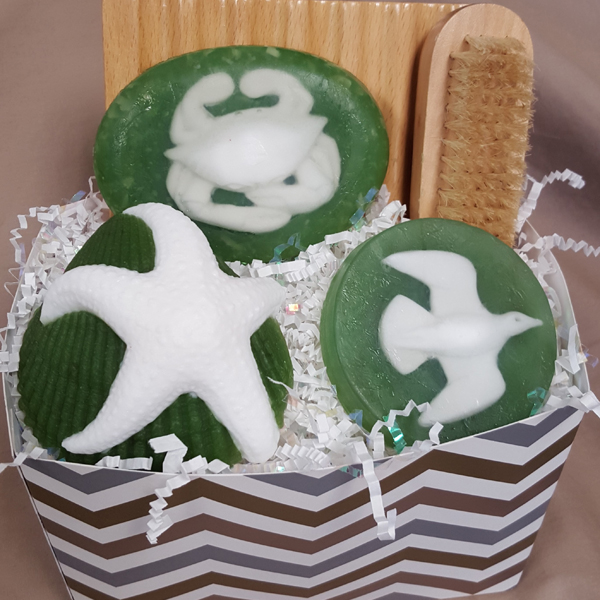 Christmas Holiday soap, gifts, beach gifts, Christmas beach soap gift